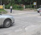 В Бердске уничтожены старые «лежачие полицейские»