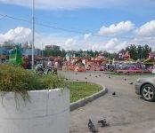 Московский «Луна парк» расположился в Бердске на «спорной» территории
