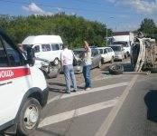 Двое пострадали во вчерашнем массовом ДТП около «Пентагона» в Бердске