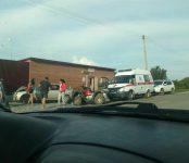 Несовершеннолетняя пассажирка пострадала в столкновении мотоцикла и легковушки в Бердске