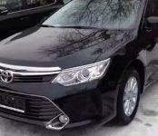 В Бердске угнали Toyota Camry 2016 года выпуска с царапиной на водительской двери