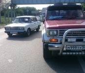 В пробке на трассе М-52 в Бердске «Тойота» сбила пешехода