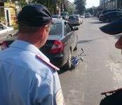 Маленького велосипедиста сбила большая машина в Бердске