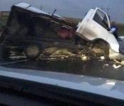 В столкновении «ГАЗели» и «Скании» на трассе погиб водитель отечественного автомобиля
