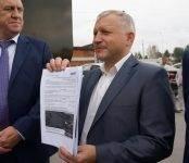 Что показал журналистам Тужик во время пресс-тура по дорогам в Бердске?
