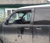 В Бердске ограбили автомобиль под покровом ночи (фото)
