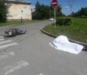 В Академгородке разбился насмерть мотоциклист (фото)