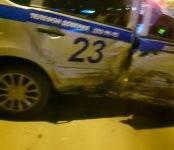 Экипаж бердской ГИБДД попал в ДТП в центре Бердска