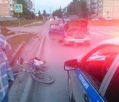 Женщина на «Тойоте Старлет» сбила мужчину на велосипеде в Бердске