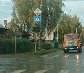 Фотофакт: Очередной чудо-светофор в Бердске