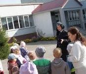 ГИБДД Бердска напомнила детям об административной ответственности за нарушение ПДД