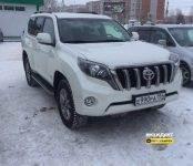 Бердчанин ищет угнанный в День джипера Toyota Land Cruiser Prado