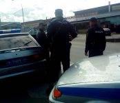 Бойцы Росгвардии задержали неадекватных участников мелкого ДТП в Бердске