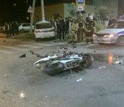 Насмерть разбился мотоциклист на «Хонде» в центре Бердска
