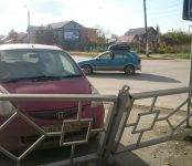 Девушки на «Хондах» в Бердске в выходные выбирали ДТП погорячее