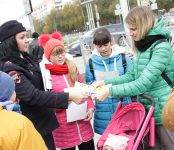 ГИБДД Бердска предложила пешеходам «засветиться»