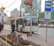 «Умную» остановку общественного транспорта монтируют в Новосибирске