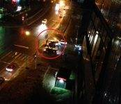 Фотофакт: Автоледи на «Одиссее» столкнулась с байкером в Бердске