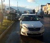 Курсантка автошколы на «Шкоде» устроила ДТП в Бердске