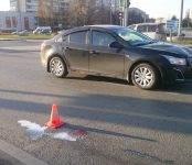 «Шевроле Круз» сбил женщину на «зебре» у вокзала в Бердске