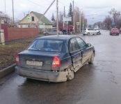 Жёсткое столкновение авто на недавно благоустроенном перекрёстке в Бердске