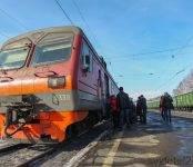Очевидец: Электричка Новосибирск-Черепаново сбила насмерть мужчину в Речкуновке