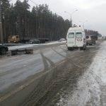 Дорожники зачистили место ДТП с пострадавшим на трассе М-52, лишь только отъехала «скорая»