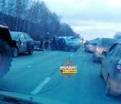 Три человека погибли на трассе М-53 под Новосибирском