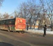 Автобус насмерть сбил женщину-пешехода в Новосибирске
