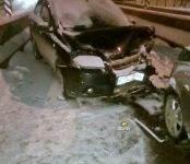 Водитель «Шевроле» перепутал въезд в Бердск с выездом из него и устроил ДТП