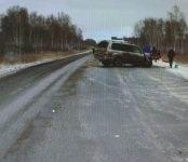 Один человек погиб и двое ранены в лобовом столкновении «Тойота Лэнд Крузер» и «Лифан» на трассе Р-254