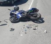 Водитель иномарки ответит в суде за сбитого мотоциклиста в Новосибирске