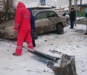 В ДТП повреждена одна из 10 карет «скорой помощи» в Бердске