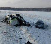 Погиб водитель Nissan Cefiro на Ленинск-Кузнецкой трассе