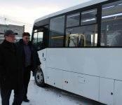 В Искитиме появился новый автобус