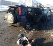 Двое детей пострадали в автоаварии на трассе в Искитимском районе