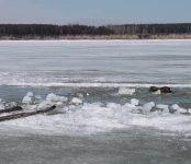 Три человека вместе со снегоходами утонули в Оби
