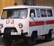 Ключи от новой УАЗ-санитарки вручили ЦГБ Бердска