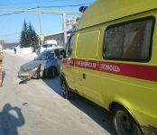 В замесе трёх автомобилей в Бердске пострадал один человек
