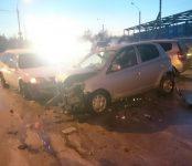 3-летняя девочка поучаствовала в жёстком тройном ДТП на трассе в Бердске