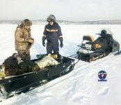С сердечным приступом увезли рыбака со льда Обского моря спасатели МАСС