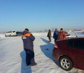 Спасатели МЧС: выезд транспорта на лёд — под надзором!