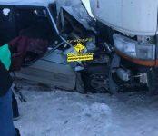 Два смертельных ДТП произошло 24 февраля в Новосибирской области