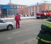 На незначительное столкновение двух авто в Бердске прибыл экипаж пожарной охраны