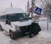 325-я маршрутка попала в ДТП в Бердске
