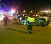4 человека пострадали в жёстком столкновении автомобилей в Бердске