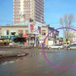 Не разъехались на перекрёстке «четвёрка» и Рено в центре Бердска