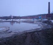 Паводок в Бердске начался у проходной БЭМЗа