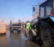 Фотофакт: В Бердске стартовал аварийный ремонт дорог