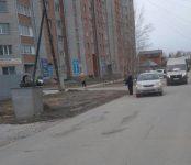 «Тойота Филдер» сбила 50-летнюю женщину в Бердске